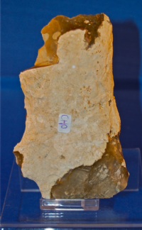 Large Mesolithic flint Hand Axe / Cleaver from Suffolk. SOLD